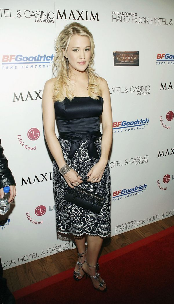 At the Maxim magazine Billboard awards party at the Hard Rock Hotel in Las Vegas on Dec. 6, 2005.