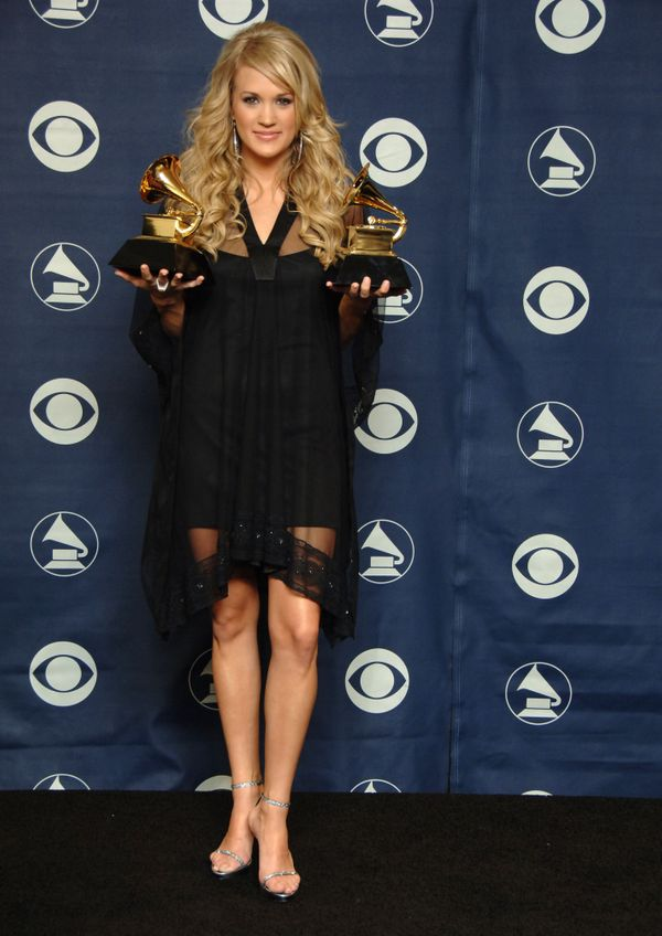 At the Grammy Awards on Feb. 11, 2007 in Los Angeles.
