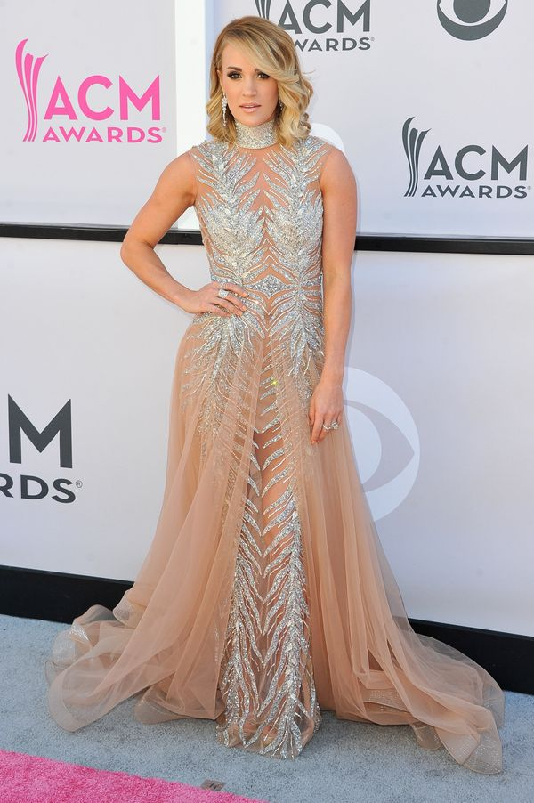 At the Academy of Country Music Awards on April 2, 2017 in Las Vegas.
