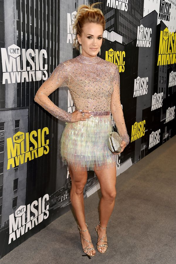 At the 2017 CMT Music Awards on June 7, 2017 in Nashville, Tennessee.