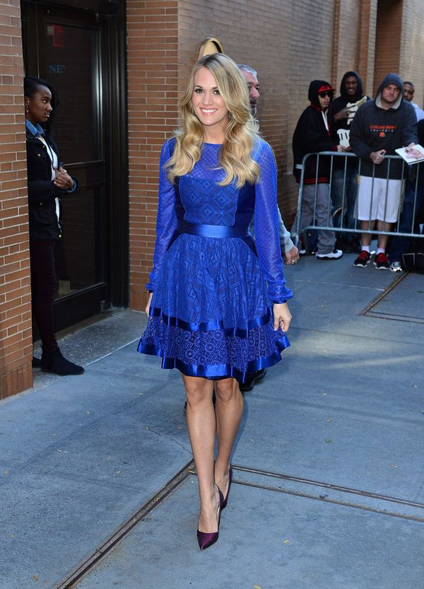 """Leaving """"The View"""" on Oct. 27, 2014 in New York City."""