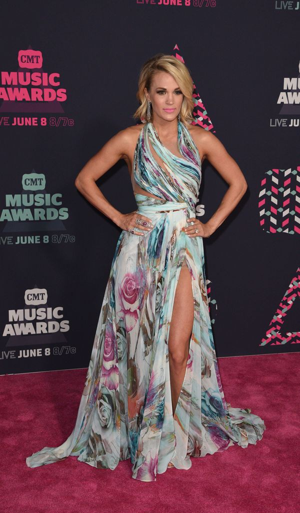 At the 2016 CMT Music awards at the Bridgestone Arena on June 8, 2016 in Nashville, Tennessee.