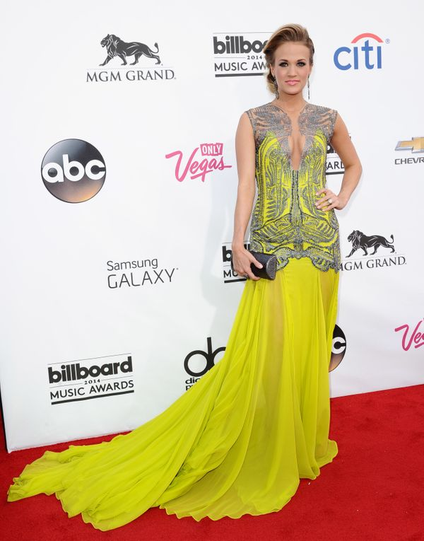 At the 2014 Billboard Music Awards on May 18, 2014 in Las Vegas.