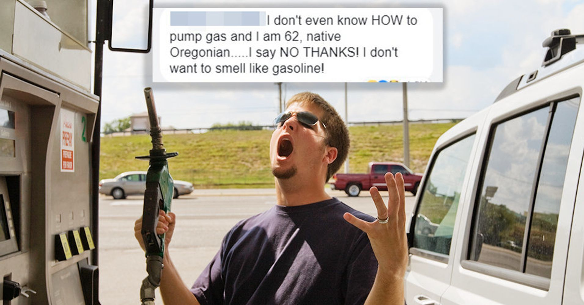 Internet Trolls Oregonians After Self-Serve Gas Law Takes Effect