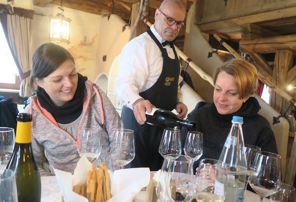 Hubert Kastlunger is the skiing sommelier
