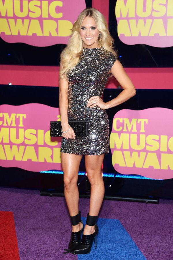 At the CMT Music awards at the Bridgestone Arena on June 6, 2012 in Nashville, Tennessee.