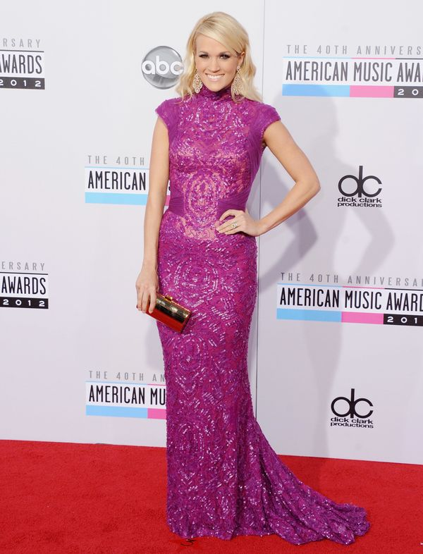 At the American Music Awards on Nov. 18, 2012 in Los Angeles.
