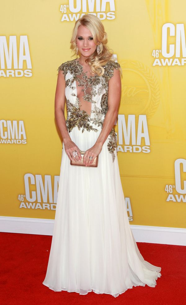 At the CMA Awards on Nov. 1, 2012 in Nashville, Tennessee.