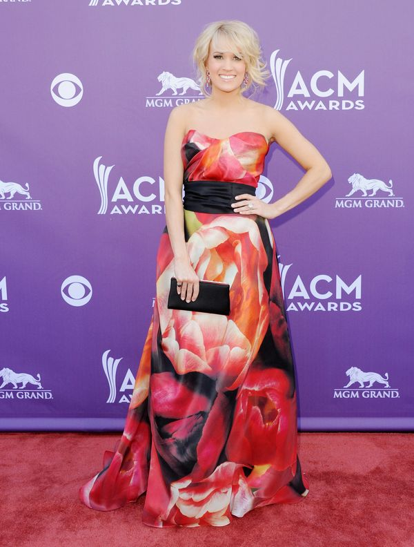 At the Academy Of Country Music Awards on April 7, 2013 in Las Vegas.