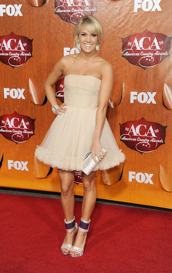 At the American Country Awards at the MGM Grand Garden Arena on Dec. 5, 2011 in Las Vegas.