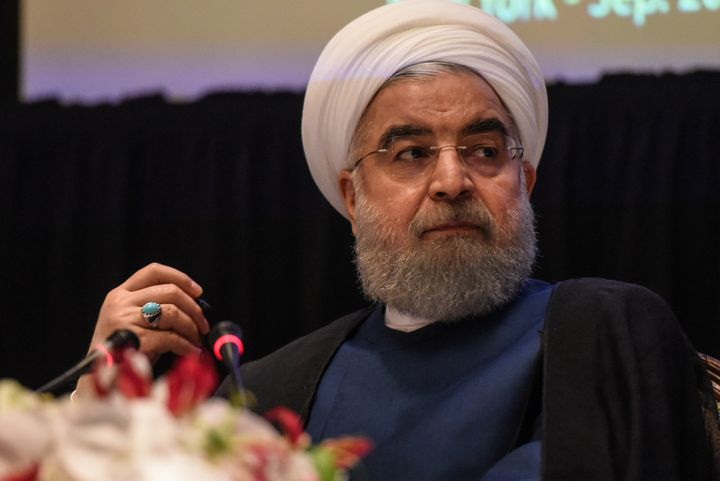 Iranian President Hassan Rouhani has urged restraint from protesters and security forces.