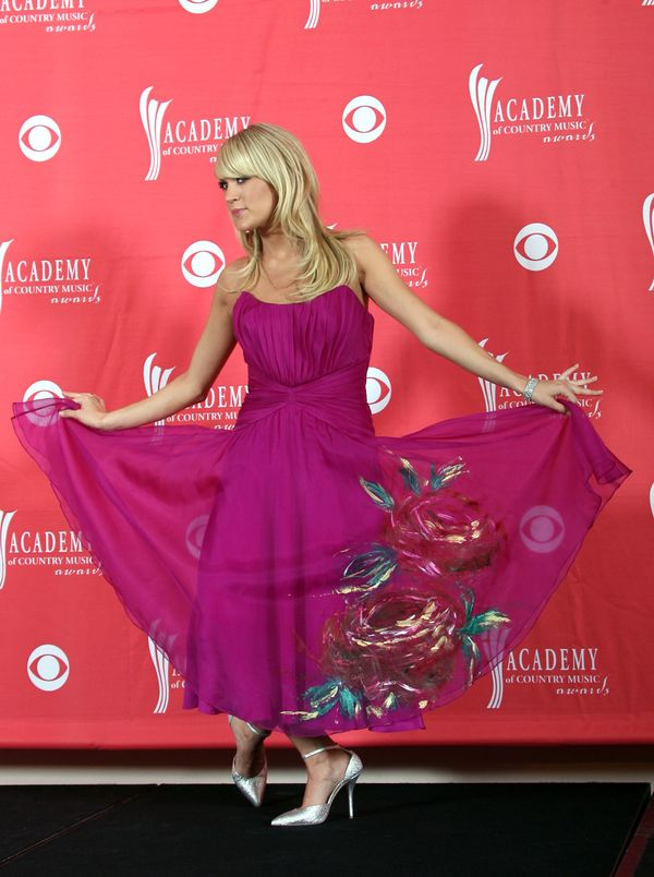 At the Academy of Country Music Awards on May 18, 2008 in Las Vegas.