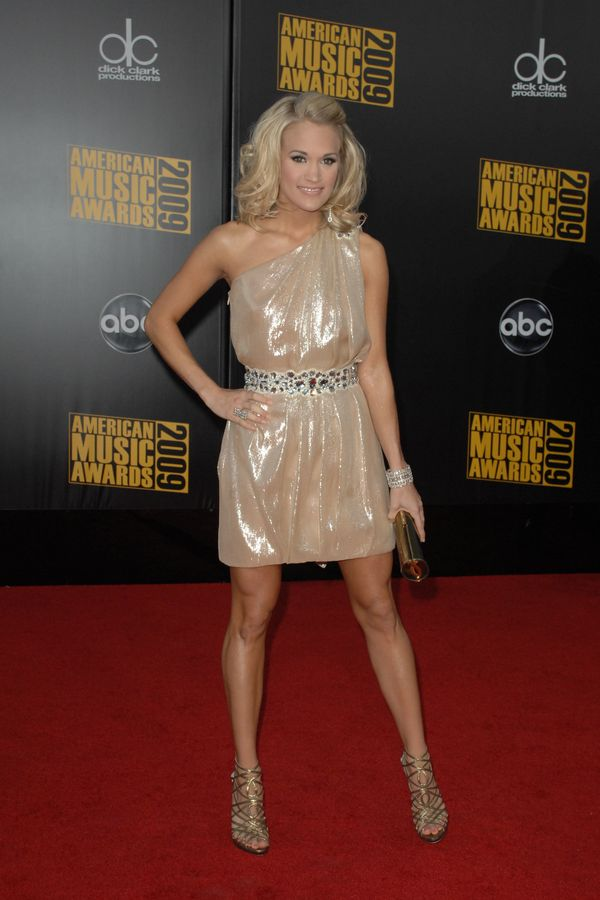 At the American Music Awards on Nov. 22, 2009 in Los Angeles.