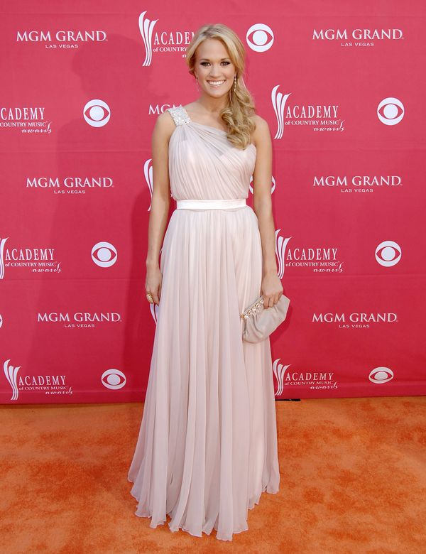 At the Academy of Country Music Awards on April 5, 2009 in Las Vegas.