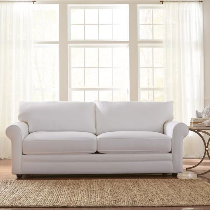Miraculous 12 Couches For Small Spaces That Are Actually Roomy Onthecornerstone Fun Painted Chair Ideas Images Onthecornerstoneorg