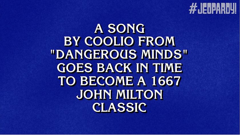 'Jeopardy' Contestant Loses $3200 by Mispronouncing Coolio Song