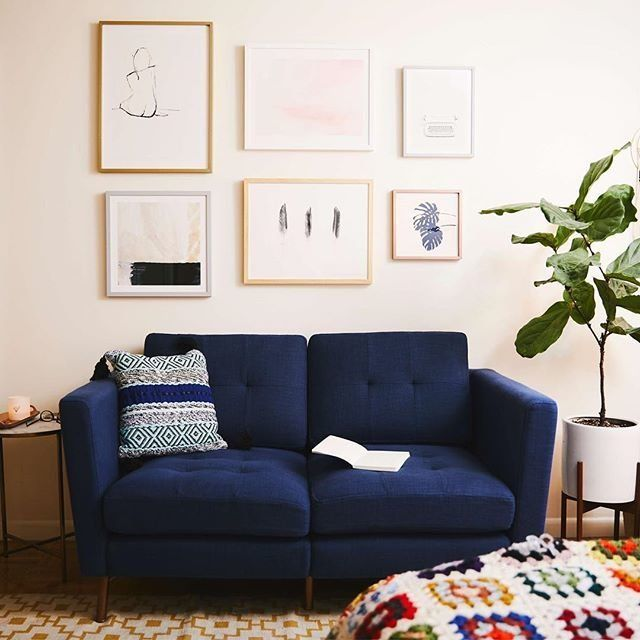 12 Couches For Small Spaces That Are Actually Roomy Huffpost Life