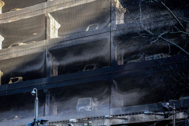 United Kingdom  parking garage fire destroys roughly 1400 cars