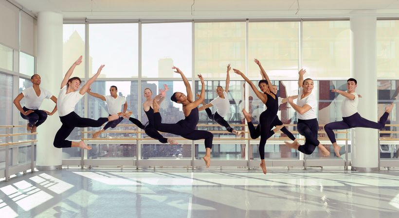 Students in The Ailey School Professional Division