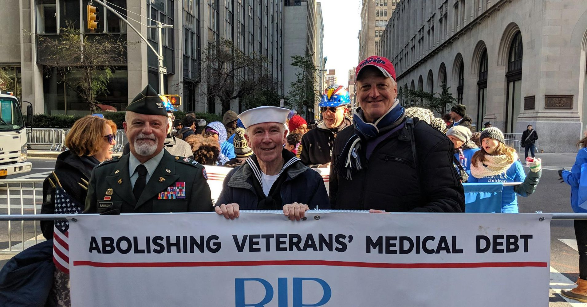 "2018's Replacement for ""Thank You for Your Service"" – Actually Helping Veterans by Relieving Them of Unpayable Medical Debt"