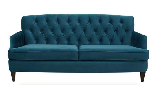 "Add some traditional flair with <a href=""https://www.allmodern.com/furniture/pdp/kaylynn-sofa-wrlo7908.html?piid=22814726"" ta"