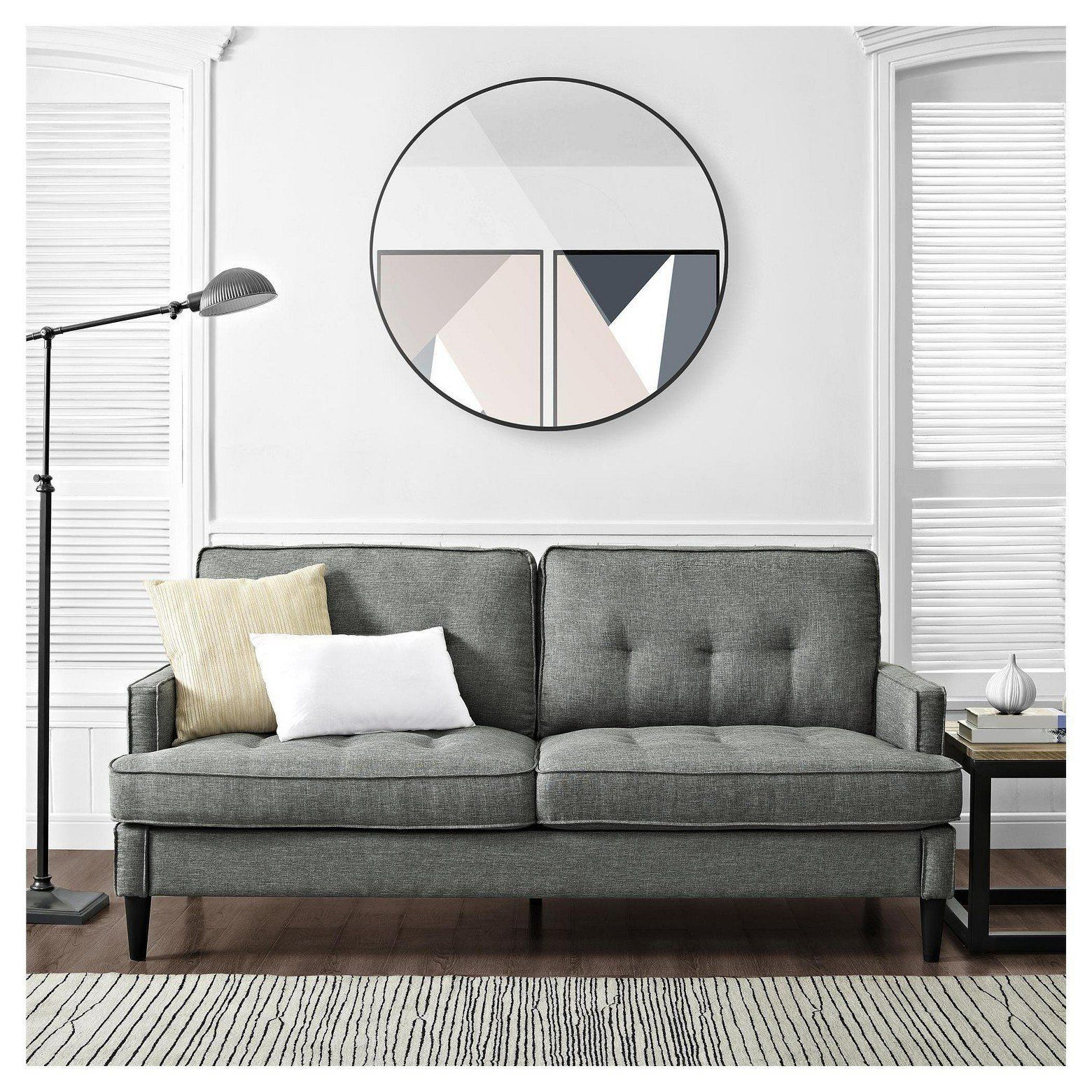 """Bring depth to your home without taking up too much room with the <a href=""""https://www.target.com/p/marley-mid-century-modern"""