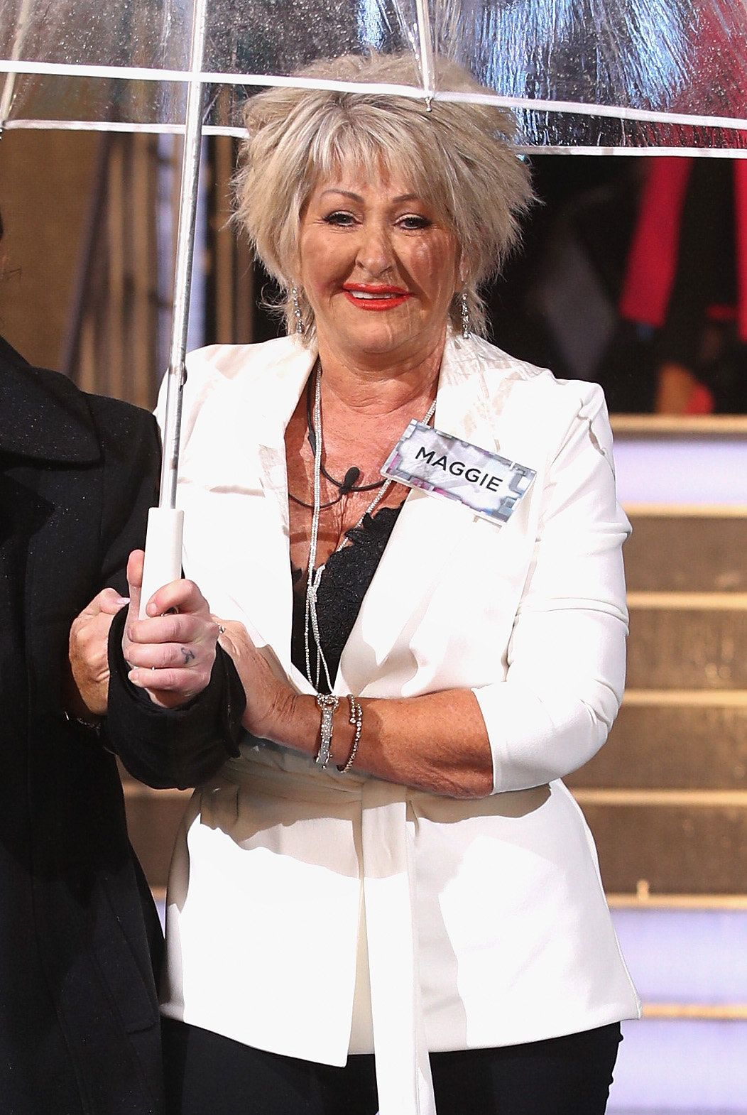<strong>Maggie Oliver entered the 'Celebrity Big Brother' house on Tuesday</strong>