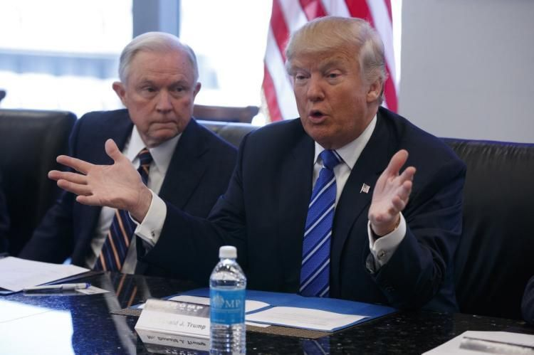 Trump and Sessions