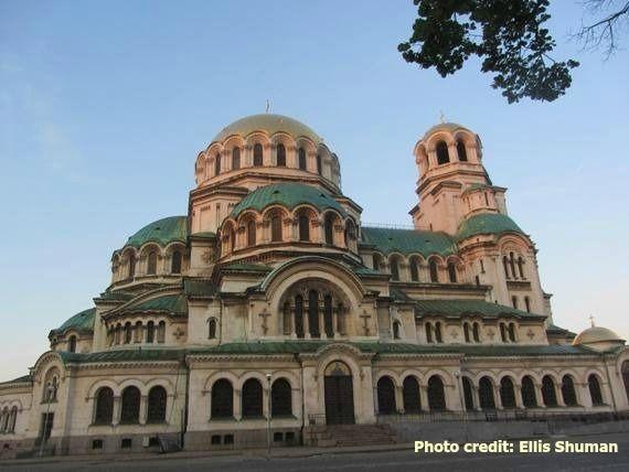 Sofia's Alexander Nevsky Cathedral