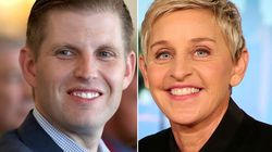 Eric Trump tweete une théorie du complot vraiment bizarre sur Ellen