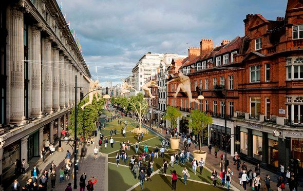 A vehicle-free Oxford Street gives space back to people, not