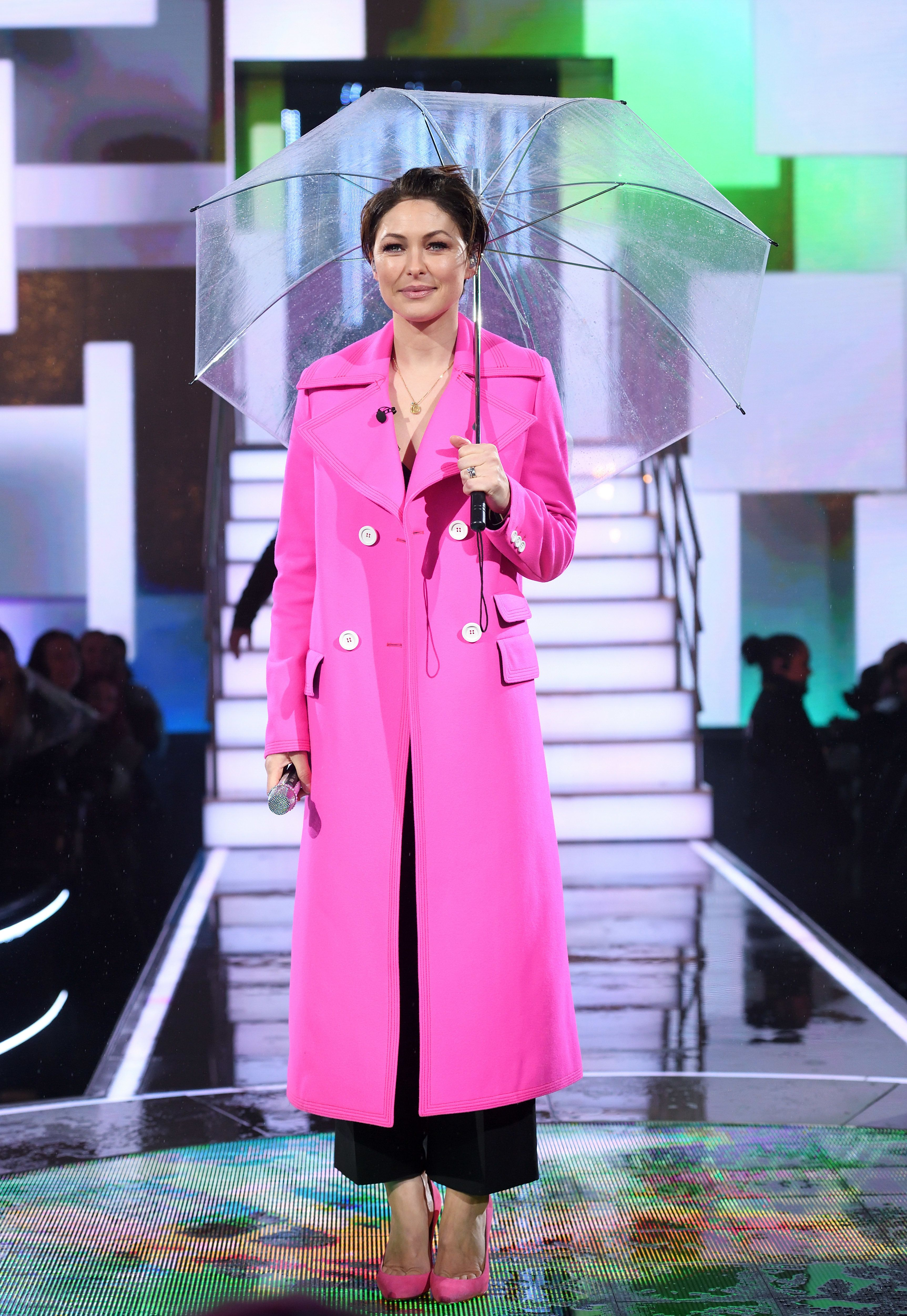 Emma Willis' Hot Pink Coat From CBB's All-Female Launch Night Is Now On