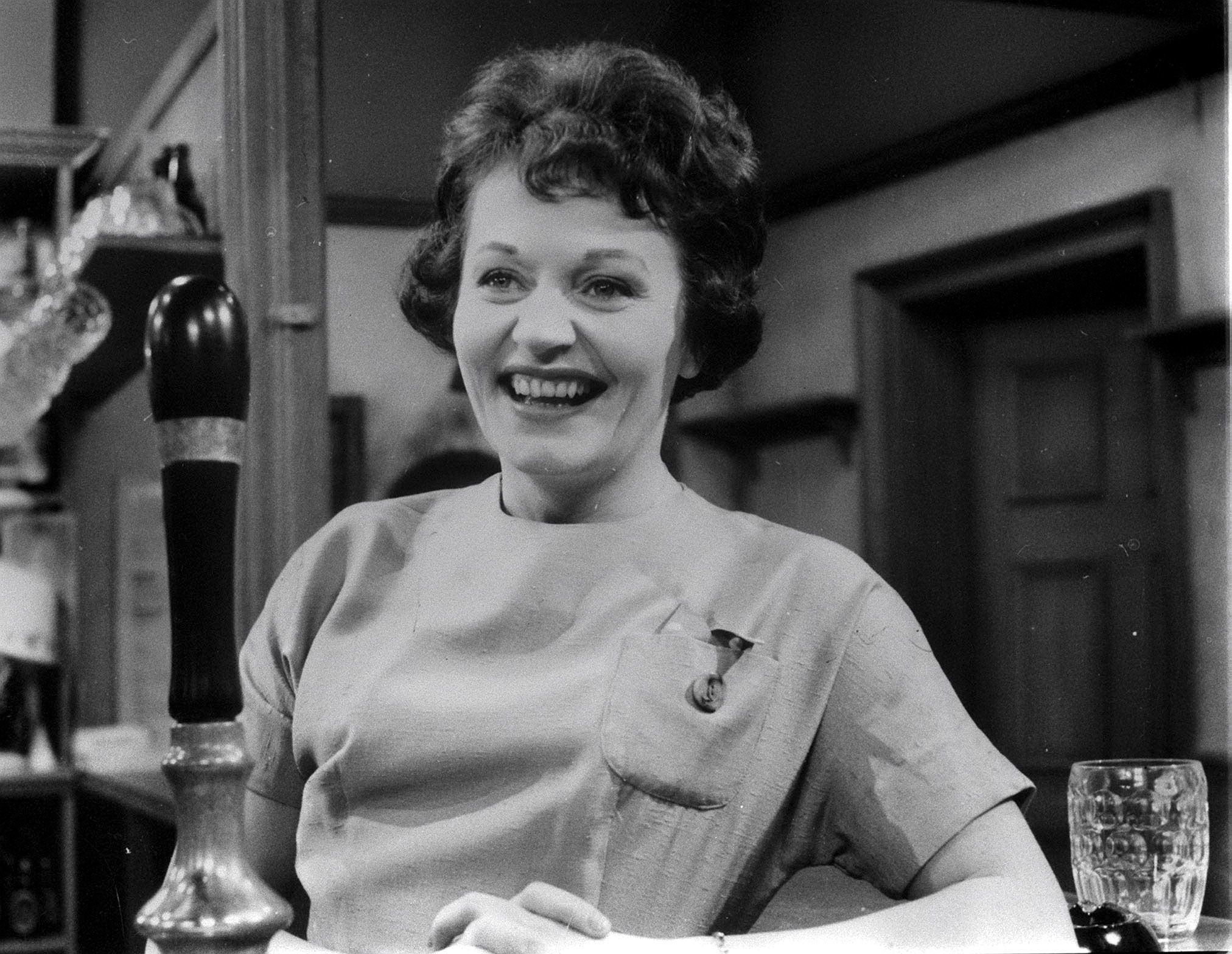 Doreen Keogh was the firstbarmaid to pull pints in the Rovers