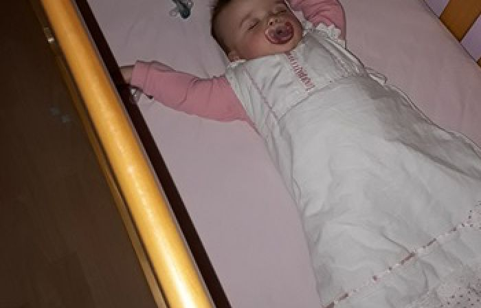Mum's Genius Hack Solves The Problem Of Babies Crying For Their Dummy During The