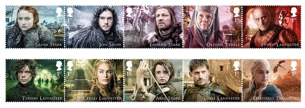 Behold These Beautiful New 'Game Of Thrones' Postage