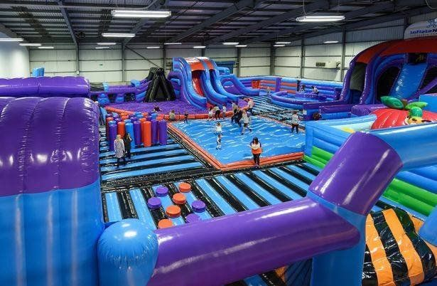 Don't Fancy The Gym? Manchester Has Launched A 'Bouncy Castle' Fitness