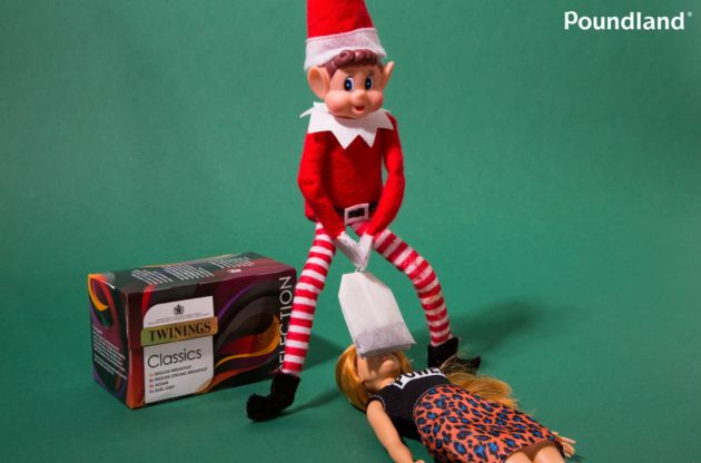 Poundland's NSFW Elf 'Teabagging' Advert Investigated By Advertising
