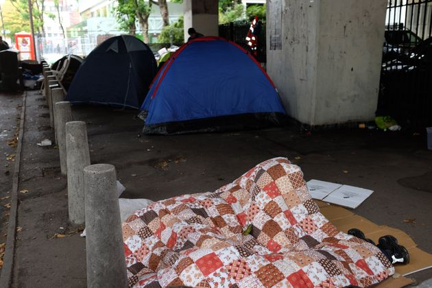 More than 300,000 people are currently homeless in the UK, according to