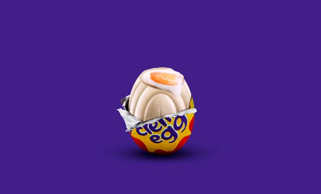 Cadbury release limited edition white chocolate Creme Egg