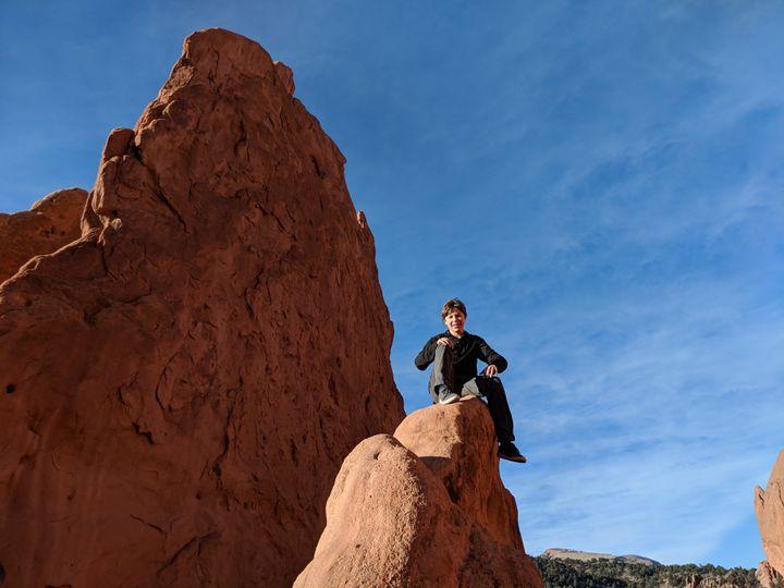 Bouncing Around Colorado Springs In The Dead Of Winter