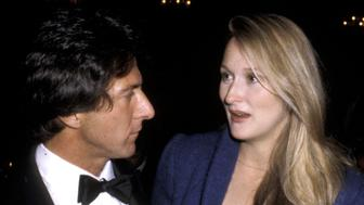Dustin Hoffman and Meryl Streep (Photo by Ron Galella/WireImage)