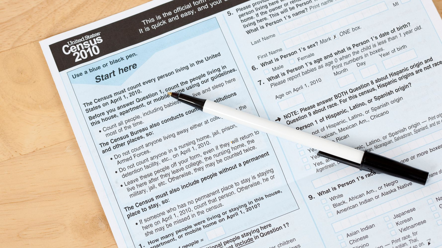 The DOJ Wants A Citizenship Question On The Census  That