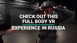 Check Out This Full Body VR Gaming In