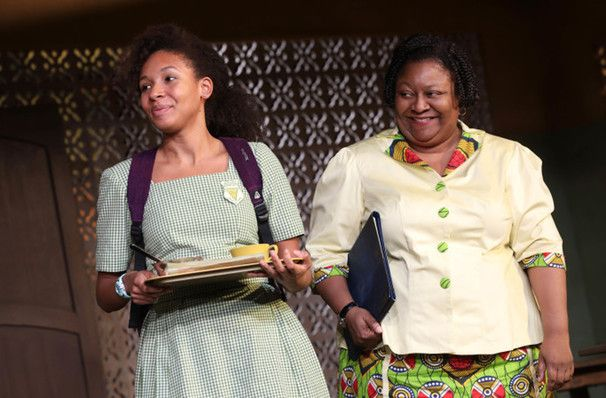 "The cast of ""School Girls; Or, the African Mean Girls Play."" Left to right: Nabiyah Be and Myra Lucretia"