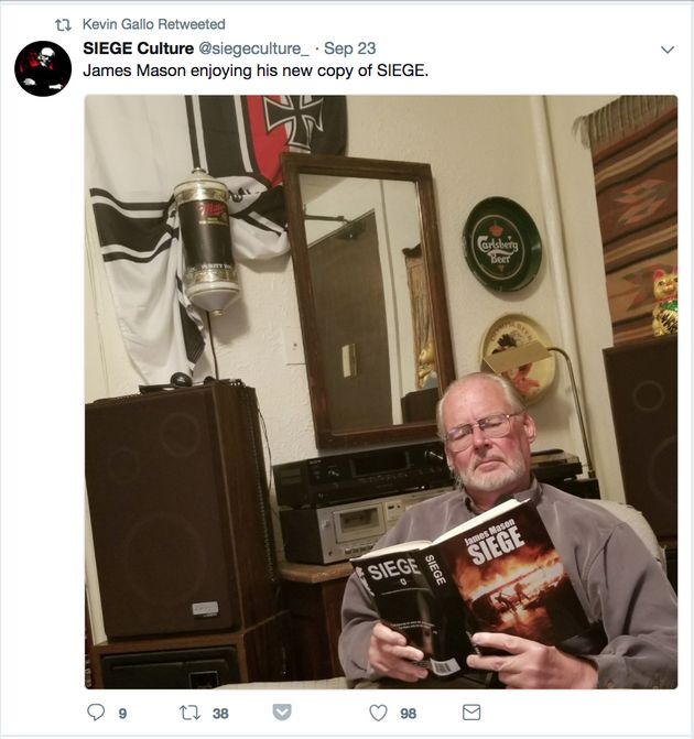 We Found The Neo-Nazi Twitter Account Tied To A Virginia Double