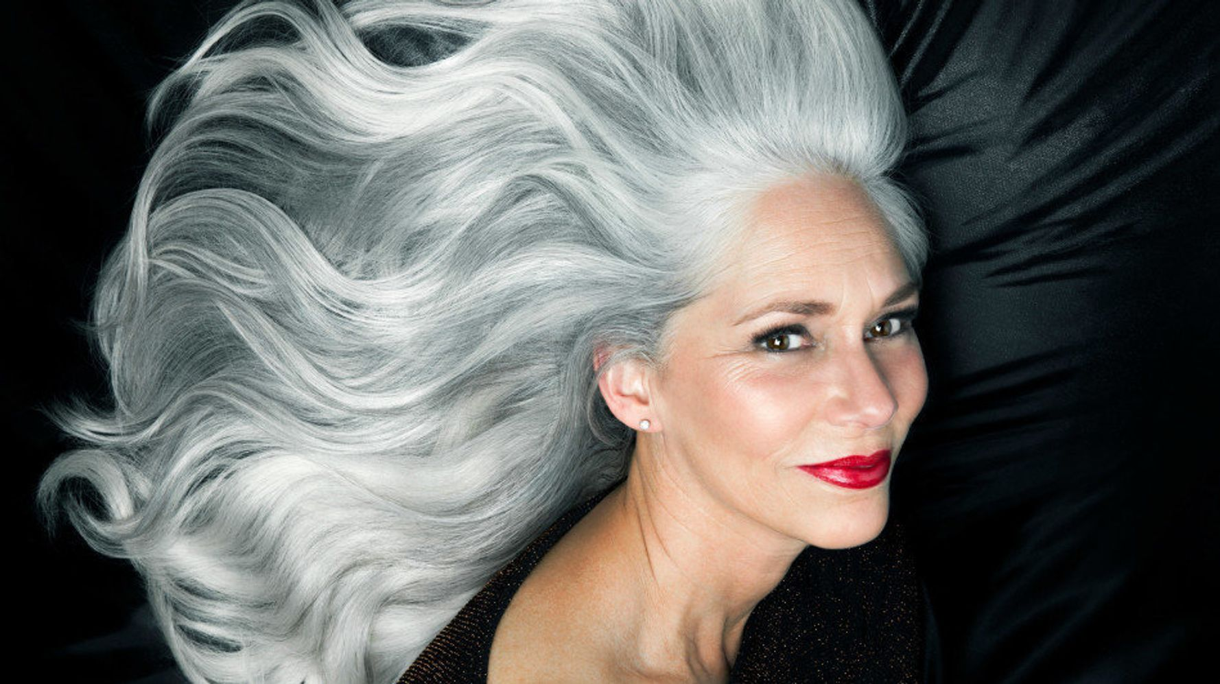 10 photos that show how beautiful gray hair really is | huffpost