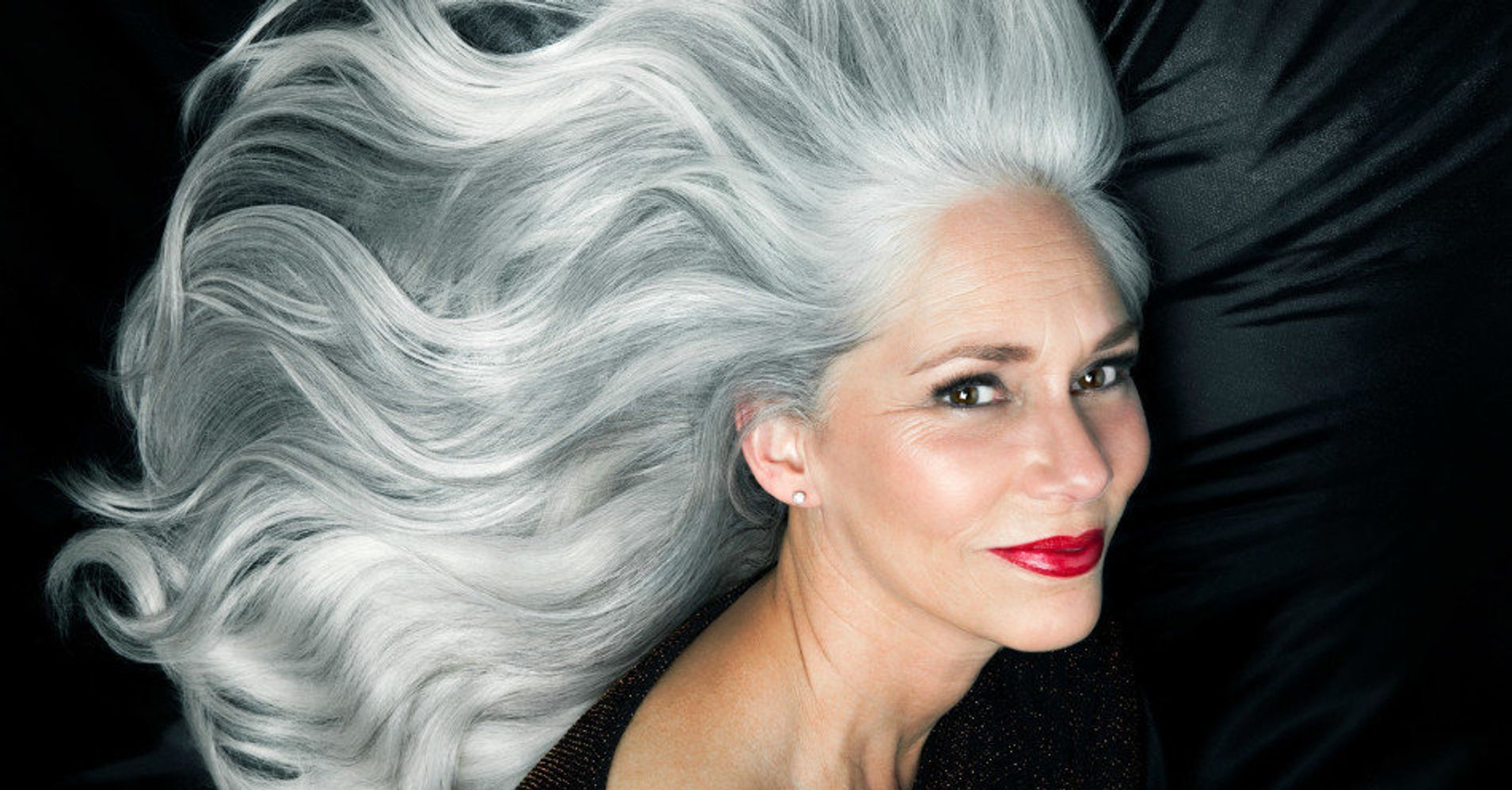 10 Photos That Show How Beautiful Gray Hair Really Is Huffpost