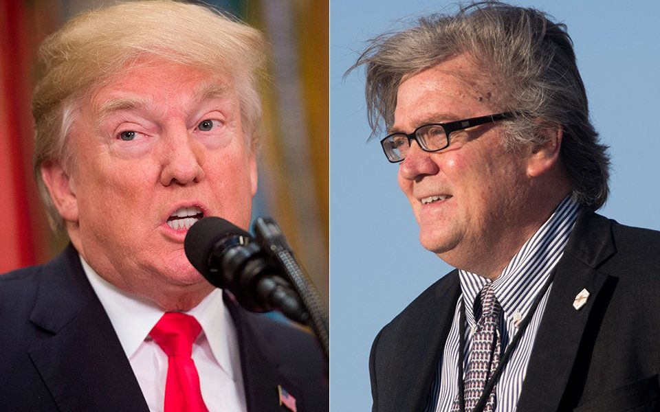 Donald Trump Responds To Steve Bannon Bombshell: 'He Lost His