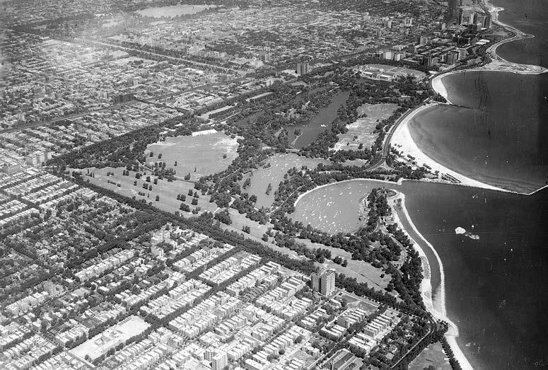 Jackson Park, Chicago, IL, 1938.