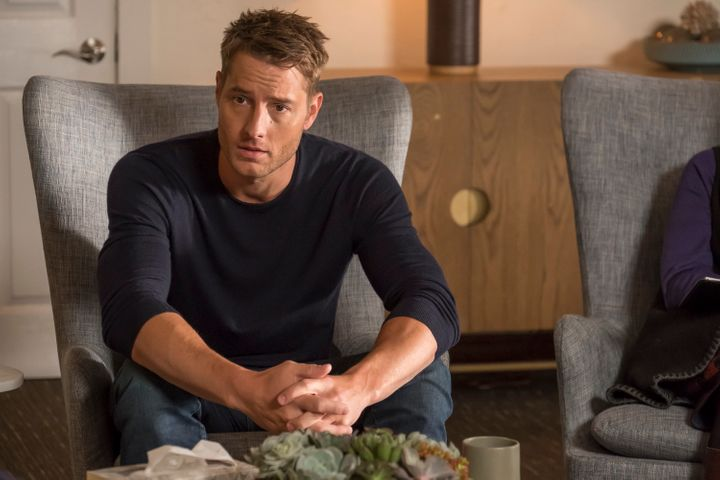 "Justin Hartley as Kevin in ""The Fifth Wheel."""